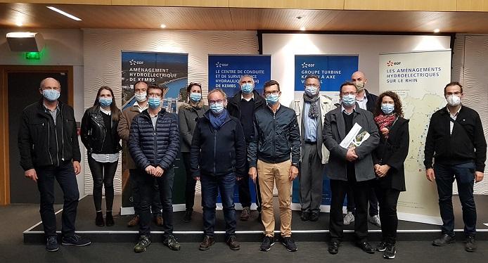 Retour sur la visite de la centrale hydroélectrique EDF de Kembs !