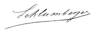 signature schlumberger